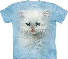 Gatito blanco esponjoso. #3467