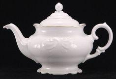 Elegance Fine China Teapot - Large