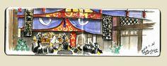 2012.1.21 World Wide Sketch Crawl 34th Tokyo Akasaka Results ,Tetsuro Honda