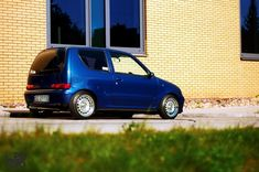 Fiat Seicento with a turbo L T-Jet Abarth 500 engine Best Jdm Cars, Fiat 600, Small Cars, Automobile, Engineering, Van, Vehicles, Cars, Car