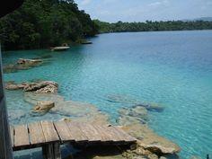 Lugares Turisticos de Alta Verapaz: Laguna Lachuá
