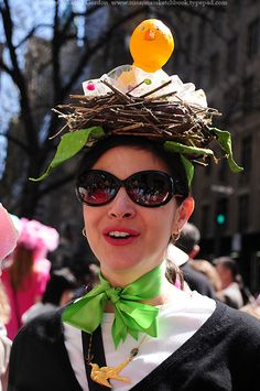 I must immediately work on my easter bonnet. Easter Hat Parade, Kids Dress Up, Before Midnight, Diy Hat, Easter Celebration, Nyc Fashion, Cute Crafts, Party Hats, Easter Bonnets