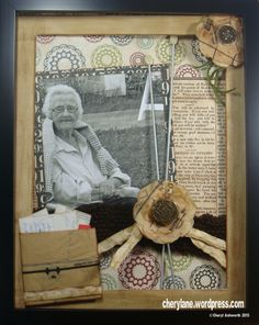 Ideas for my memory box. Like the simplicity.