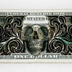 Laser Cut Dollar Sculptures by Scott Campbell