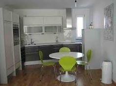 cocina integral gris y blanco - Buscar con Google