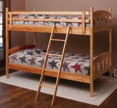 Bunk Beds Woodworking Project Plan