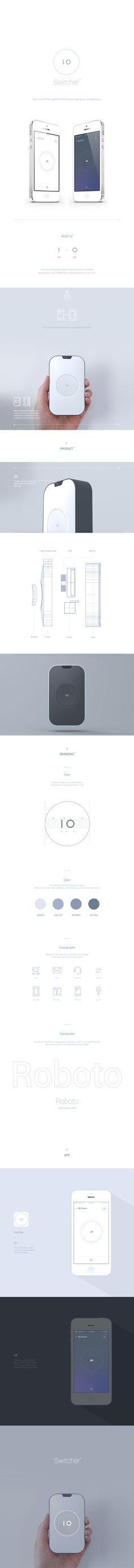 Product / Branding / UX Design for Switcher. Web Design, Layout Design, Presentation Layout, Mobile Ui Design, Ui Design Inspiration, Gadgets, Interior Design Companies, Bottle Design, Motion Design