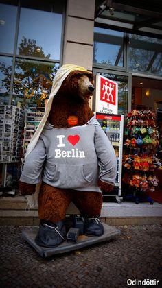 Yo también amo Berlin ;) #IchliebeBerlinbär