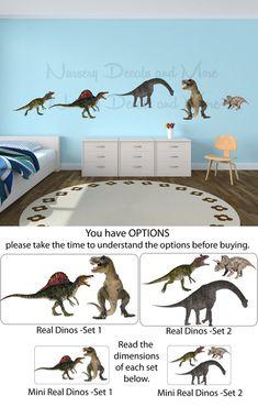 Dinosaur Wall Decals Dinosaur Stickers door NurseryDecalsAndMore