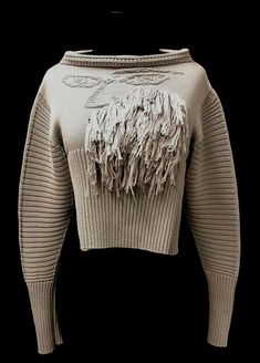 knitGrandeur: FIT & Baruffa 2/30s Cashwool Collaboration 2016: Term Garment Project