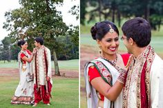 Wedding of Tina & Amit, Nepal via http://www.southasianbridemagazine.com/