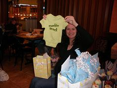 Jed, Sarah  Elliot: My Zombie Themed Baby Shower