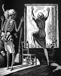 Rockwell Kent (1882-1971) ~ Commissioned illustration for Vanity Fair (April 1922). Created under the artist's pseudonym, Hogarth Jr.