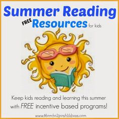 Summer Reading Resources and incentive programs for children - 2014