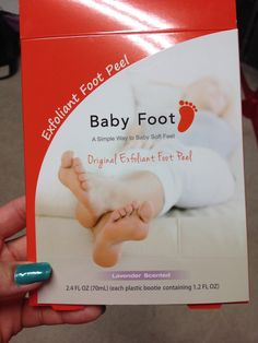 This foot mask is amazing! Leave it on for an hour, rinse off, and about a week later, the dead dry skin just peels off! Leaves your feet baby soft! Perfect for sandal season