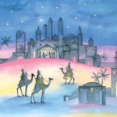 xmas card bethelehem | Home > Cards > Christmas Individual > Bethlehem Christmas Cards