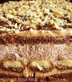 Ciasto czekoladowo orzechowe czyli domowe Ferrero Roche
