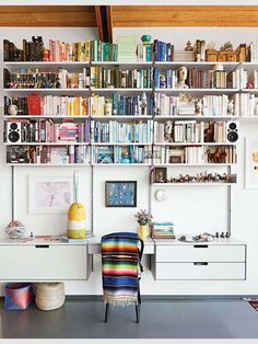 Library + Desk