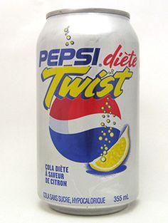 Diet PEPSI Twist Pepsi Ad, Diet Pepsi, Coke, Coca Cola, Discontinued Food, Soda Drink, Fanta Can, Weird Food, Pop Bottles