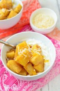 Caramelized Pineapple Yogurt Bowls - Delicious Knowledge