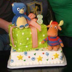 Backyardigan birthday cake