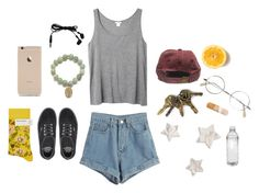 """""""Untitled #40"""" by hvnnuh on Polyvore featuring WithChic, Masquerade, Vans, Bonne Maison and Monki"""