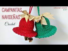 YouTube Crochet Hats, Christmas Ornaments, Halloween, Knitting, Holiday Decor, Crafts, Patterns, Youtube, Christmas Decor