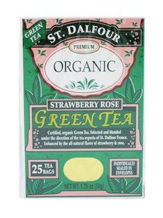 St Dalfour Premium Organic Green Tea Strawberry Rose 3 X 175 Oz * You can get more details by clicking on the image.-It is an affiliate link to Amazon. #GreenTea