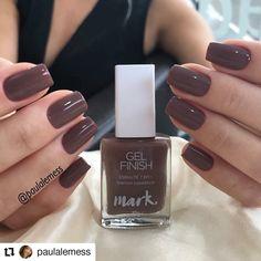"""3,085 curtidas, 16 comentários - InstaBlog Viciadas_nails (@viciadas_nails) no Instagram: """"#Repost @paulalemess • • • """"Marrom capadócia"""" da @avonbrasil . #manicure #nails #unhas #lovenails…"""""""