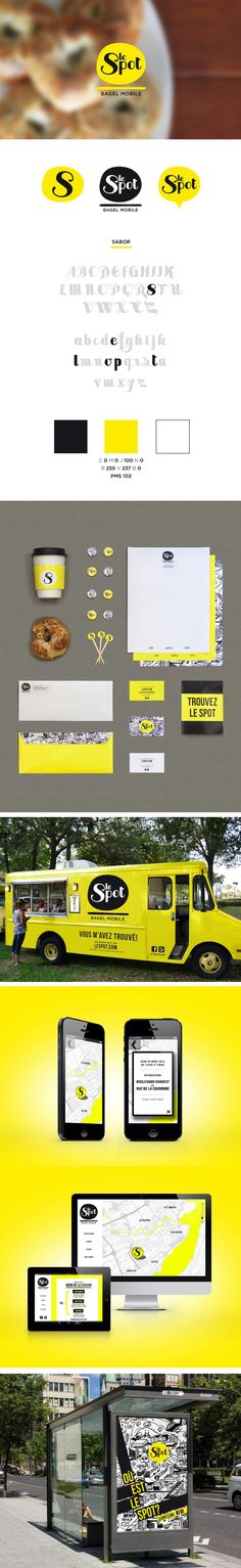 Le Spot ooops reminds me I missed breakfast #foodtruck #packaging #branding PD