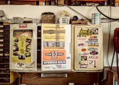 Documentation of a Harley garage in France. Made by FUXPIX  stickers.jpg