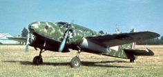 The Caproni-Begamaschi Ca.310 Libeccio (Italian: southwest wind) was an Italian monoplane, twin-engine reconnaissance aircraft used in World War II.