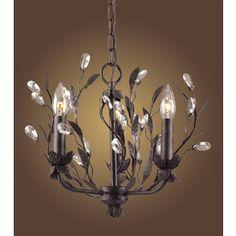 Westmore Lighting�3-Light Circeo Deep Rust Chandelier
