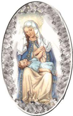 Gifs y Fondos PazenlaTormenta: IMÁGENES DE LA VIRGEN MARÍA CON EL NIÑO JESÚS