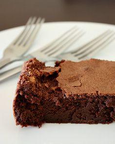 bolo de chocolate sem farinha I