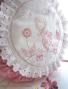 Embroidery Pattern PDF Pattern Instant Download por TamarNahirYanai
