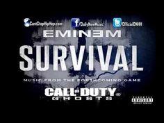 eminem survival [Officiel + LYRICS]