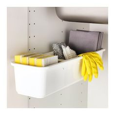 IKEA VARIERA pull-out container It's easy to access what's inside because it pulls out.