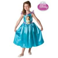 Girl's Licensed Jasmine Aladdin Costume - Disney Princess Party Fancy Dress Costume