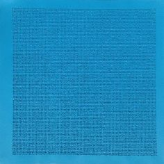 Lezlie Tilley  10,609 tiny stones arranged according to the laws of chance - brilliant blue 2015  mixed media on paper - framed 53 x 53cm