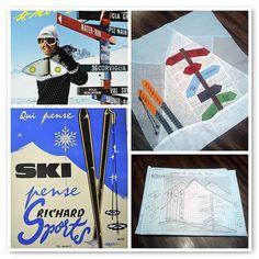 ski quilt block 3