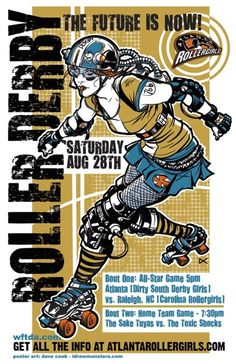Roller derby....I loved watching it on TV as a kid,  now I'm just afraid I'd break a hip...but one can dream   lol