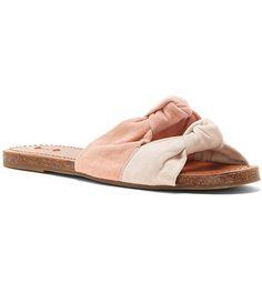 Pink Champagne:ED Ellen Degeneres Shiri Slide Sandals
