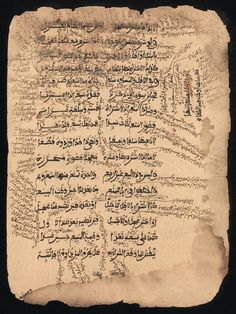 Ancients Manuscripts from Desert Libraries of Timbuktu