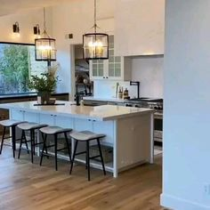Kitchen Room Design, Kitchen Cabinet Design, Home Decor Kitchen, Rustic Kitchen, Diy Kitchen Lighting, Dining Room Paint Colors, Living Dining Combo, Open Plan Kitchen Dining, Living Room Furniture Arrangement