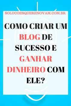 Você já se perguntou como Blogueiros e Blogueiras ganham dinheiro com seus Blogs? Olha, eu separei aqui as melhores dicas para quem deseja conhecer como isso funciona. Quer ganhar dinheiro com Blog também? Clique na imagem e aproveite esse post que está incrível!