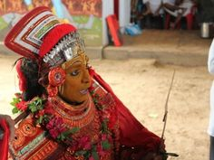 The Theyyam's Song, Tellicherry, Kerala, India