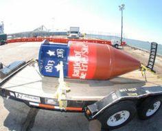 Bicentennial marker buoy designates Battle of Lake Erie, War of 1812