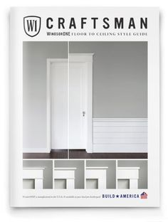 Add craftsman moldings to doors and windows