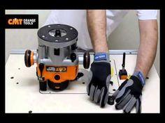 Elettrofresatrice 2400W CMT7E di CMT - YouTube